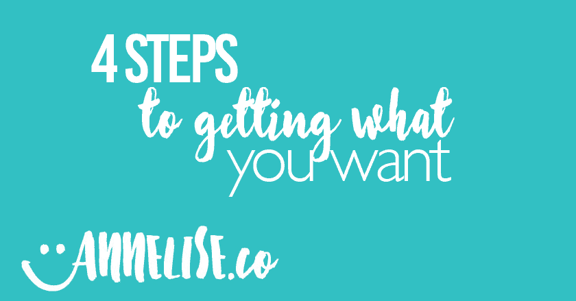 4 Steps to Getting What You Want